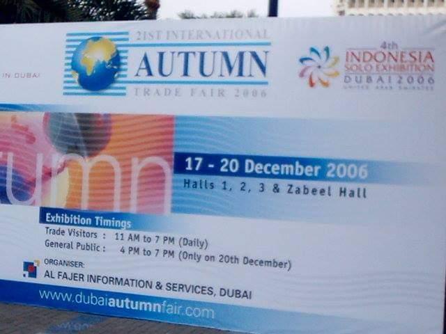 2006 | Dubai – Autumn Trade Fair